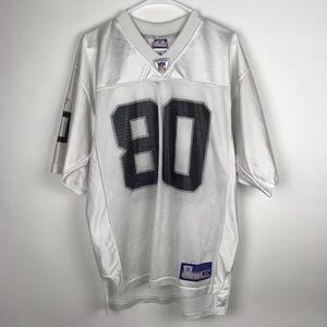 NFL Reebok Medium Raiders 80 Rice Jersey Football